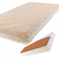 Матрас BabySleep BioForm Cotton, 140x70