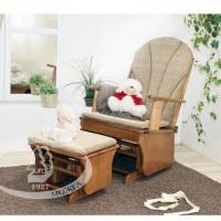 Кресло-качалка для кормления Можга С-254 красно-коричневое