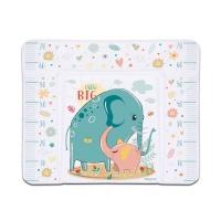 Пеленальный матрасик Babycare 820х730х210 (Слоненок (Elephant grow big)