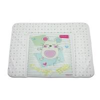 Пеленальный матрасик Babycare 820х730х210 (Слиппи Мауз, зеленый (Sleepy Mouse, g