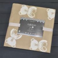 Одеяло байковое Ермолино 57-8ЕТЖ ПРЕМИУМ (140*100) (дымчатый мишки)