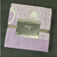 Одеяло байковое Ермолино 57-8ЕТЖ ПРЕМИУМ (140*100) (лаванда оленёнок)