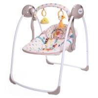 "Электрокачели Babycare ""Safari"" с адаптером (жираф)"