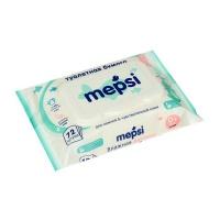 Влажная туалетная бумага Mepsi 172 для детей, 72 шт.