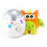 "Игрушка-проектор звездного неба ROXY-KIDS R-SA99B ""COLIBRI"" с совой"