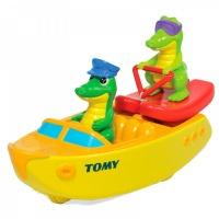 Игрушка д/ванной Крокодил на лодке TOMY E72358