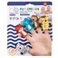 "Набор ПВХ-игрушек ""FUN AMIGOS"" Happy Baby 32010"
