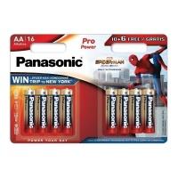Батарейка Panasonic Pro Power LR6 8 шт. (тип АА) 17187 (Spiderman)