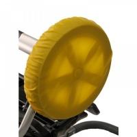 Чехлы на колеса для коляски Чудо-Чадо (2 шт., d = 18-28 см) желтые CHK05-006
