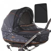 """Москитная сетка Baby care Classic Plus для колясок-""""люлек"""" (черный)"""