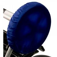 Чехлы на колеса для коляски Чудо-Чадо (4 шт., d = 18-28 см) василек CHK02-003