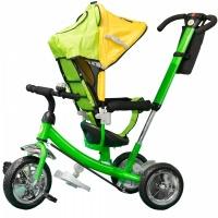 Велосипед My Mumi 6588 поворотное сиденье, зеленый