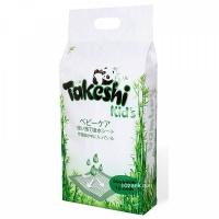 Пеленки TAKESHI KID'S впитывающие для детей бамбуковые 60*60 10 шт