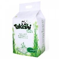 Пеленки TAKESHI KID'S впитывающие для детей бамбуковые 60*60 30 шт