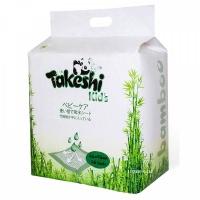 Пеленки TAKESHI KID'S впитывающие для детей бамбуковые 60*90 30 шт