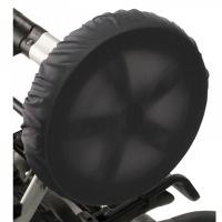 Чехлы на колеса для коляски Чудо-Чадо (2 шт., d = 28-38 см) мокрый асфальт CHK04-001