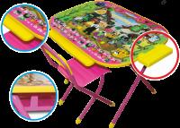 """Набор мебели """"Дэми"""" Всезнайка розовый, Чиполлино"""