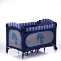 Манеж-кровать Jetem C1 (Dolphin, синий с дельфином)
