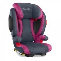 Автокресло STM (Recaro) Solar IS Seatfix, цвет Rosy серый/розовый