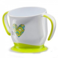 "Кружка на присоске Happy Baby ""BABY CUP WITH SUCTION BASE"" 15022"