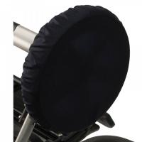 Чехлы на колеса для коляски Чудо-Чадо (4 шт., d = 18-28 см) темно-синие CHK02-002