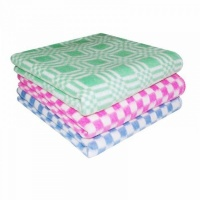Одеяло байковое Крошкин дом 57-3ЕТ х/б. 100х140 (розовый)