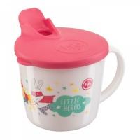 """Тренировочная кружка с крышкой NEW """"TRAINING CUP"""" Happy Baby 15010"""