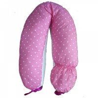 Подушка для беременных ROXY-KIDS Mama's Helper АRT0135 Премиум, холлофайбер+полистирол