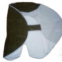 Пеленка-трансформер прогулочная Крошкин Дом ПеТ-1/С (кулирка, флис) (хаки)