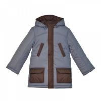 Куртка Ё-маё 39-103 (30 (110) серый утепленная для мальчика