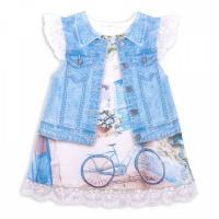 "Платье Папитто ""Fashion Jeans"" 570-03 р.22-74"