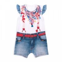 "Песочник Папитто ""Fashion Jeans"" 541-02 для девочки р.24-80"