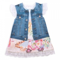 "Платье Папитто ""Fashion Jeans"" 574-03 р.22-68"