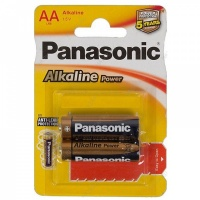 Батарейка Panasonic Alkaline LR6 2 шт. (тип АА) 11775