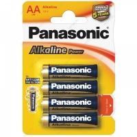 Батарейка Panasonic Alkaline LR6 4 шт. (тип АА) 09943
