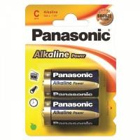Батарейка Panasonic Alkaline LR14 2 шт. (тип С) 13198