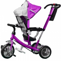 Велосипед My Mumi 6588 поворотное сиденье, фиолетовый