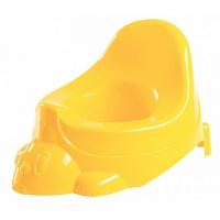 Горшок игрушка (зайчик) Бытпласт С 13261 (1326106 желтый)