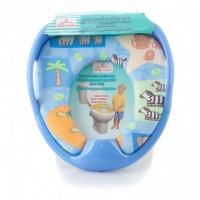 Сиденье для унитаза Baby Care РМ 2399 D26 с ручками (синий)