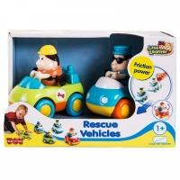 Спасательные машинки техническая помощь+полиция HAPPY KID 222G