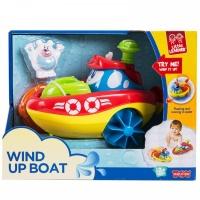"""Заводная игрушка для ванны """"Кораблик"""" - Полярный медведь Happy Kid 4325"""