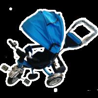 Велосипед My Mummy 6688-3 надувные колеса, синий