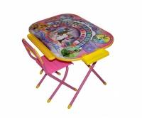 """Набор мебели """"Дэми"""" Всезнайка розовый, Ну, погоди"""