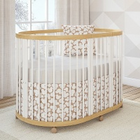 Кровать Giovanni TreeO Natural White (овальная, 120*90)