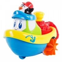 """Заводная игрушка для ванны """"Кораблик"""" - Пингвин Happy Kid 4326"""