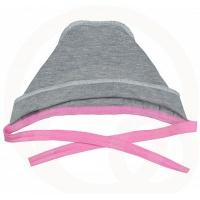 Чепчик Топотушки 8130-62 розовый (швы наружу)