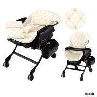 Люлька-стульчик Combi Fealette Avto Swing LX/CN (черн)