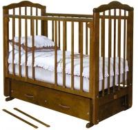 Кровать Можга С-669 Элина, маятник  попер, ящ, шоколад