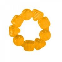 """Прорезыватель для зубок """"Карамельный круг"""" Bright Starts жёлтый 10204-1"""