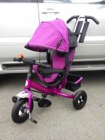 Велосипед My Mummy 6288N фиолетовый, надувные колеса